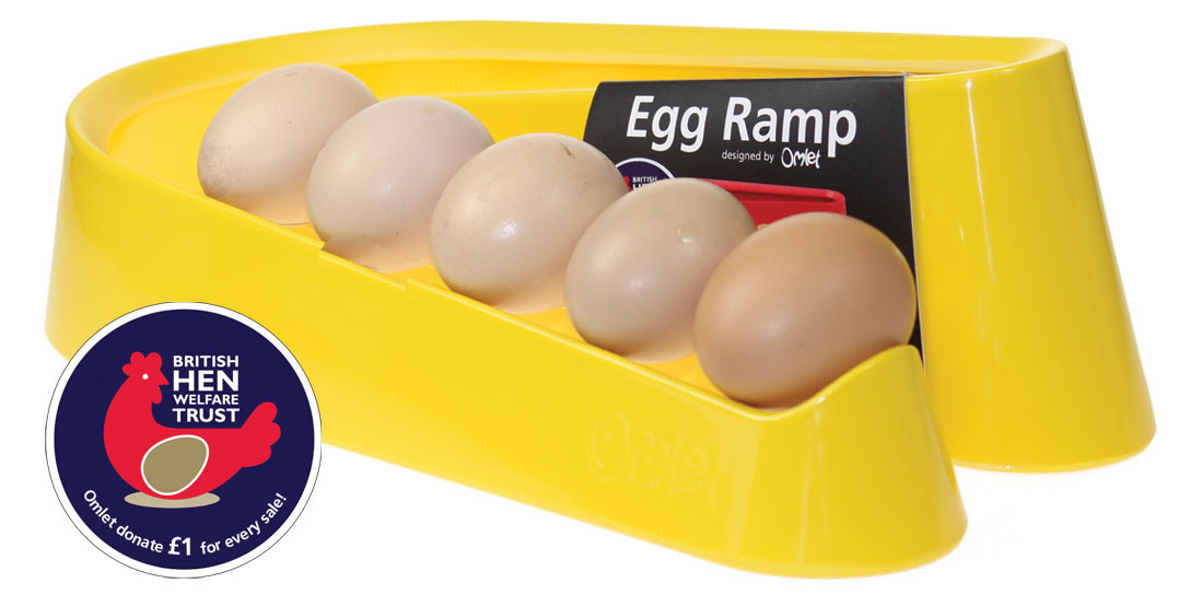 The Egg Ramp in Yellow, in support of the BHWT