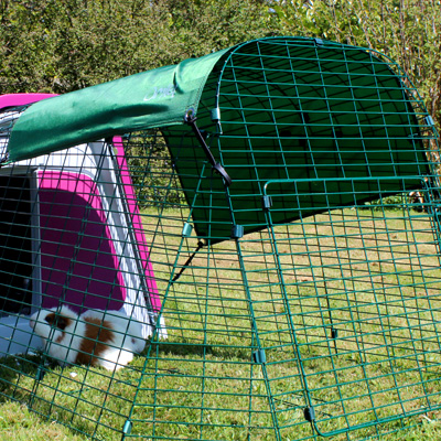 The Eglu Go Guinea Pig Hutch is suitable for every backyard