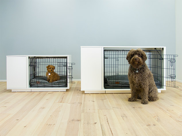 Elegantly designed, the Fido Nook will compliment your home while providing your dog with theirs