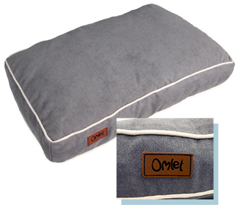 Omlet Fido beds are comfy and cosy with neat piping round the edges