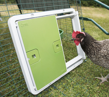 The Autodoor works on all types of chicken enclosure