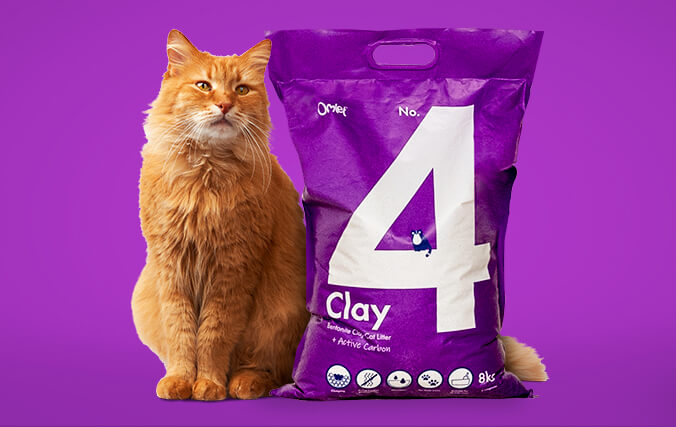 No.4 Clay offers awesome clumping power to minimise litter waste.