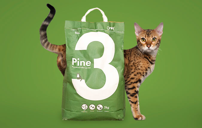No.3 Pine has a fresh, natural scent and is 100% biodegradable.