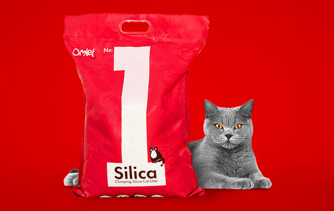No.1 Silica is an ultra hygienic, clumping litter, perfect for use in multi-cat households.