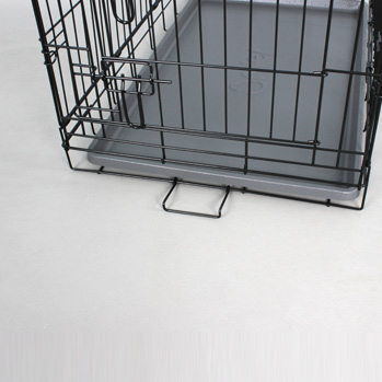 Fido Classic Easy Folding Twin Door Metal Dog Crate