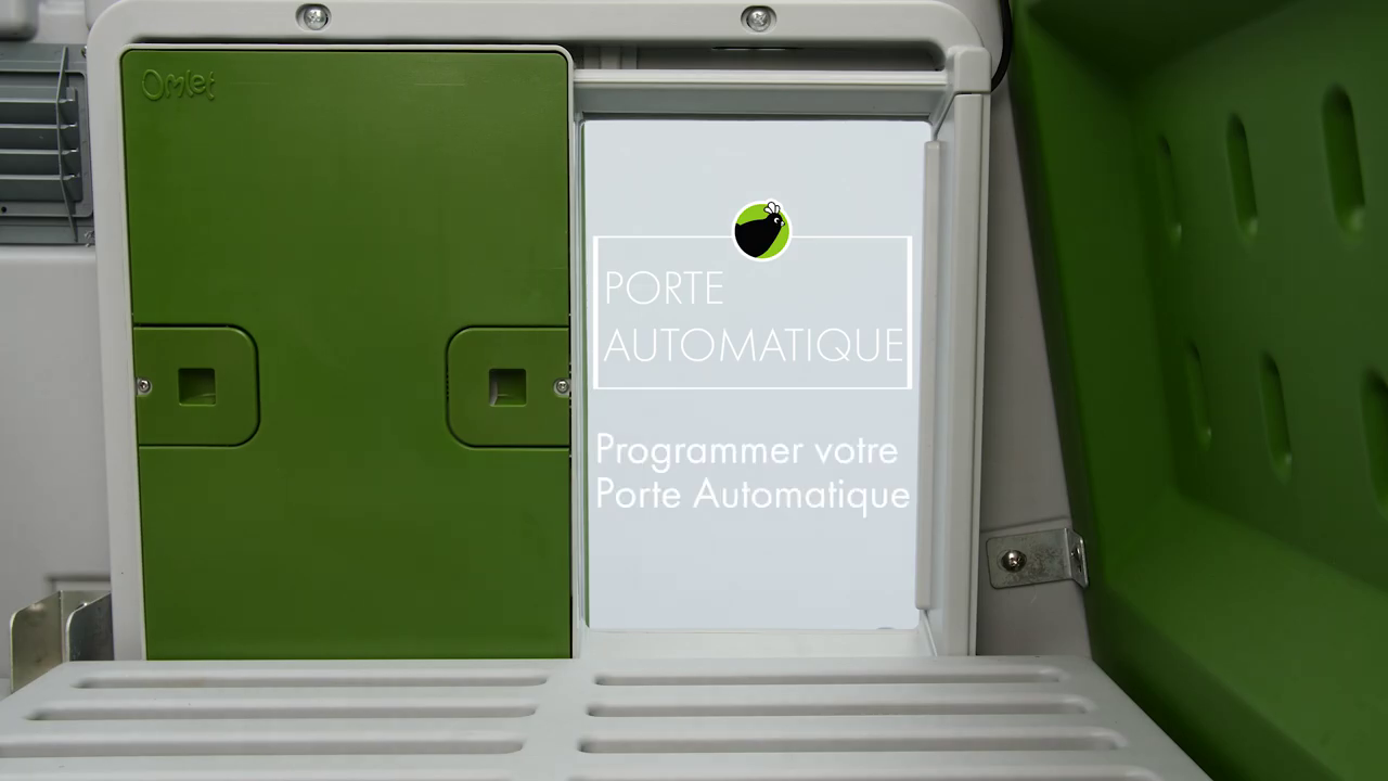Video programmation porte automatique